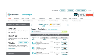 Cheap Gas Albuquerque >> Welcome To Albuquerquegasprices Com Albuquerque Gas Prices Find