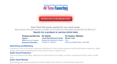 Welcome To Alltimefavoritescom Everything You Need For Your - Type-of-corporate-events