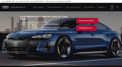 Welcome To Barrieraudicom Audi Bellevue Audi Dealership Near Me - Audi dealership near me