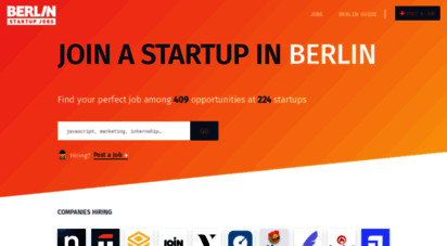 berlinstartupjobscom description berlin startup jobs