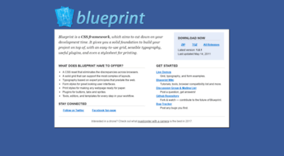 Welcome to blueprintcss blueprint a css framework spend blueprintcss malvernweather Images