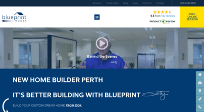 Welcome to blueprinthomes home builders perth new home blueprinthomes malvernweather Choice Image