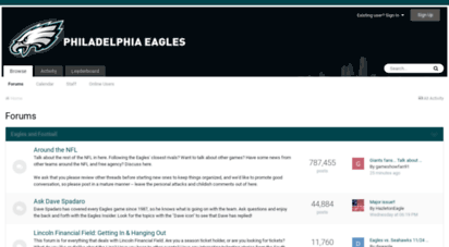 Welcome to Boards.philadelphiaeagles.com - Forums - Eagles Message Board