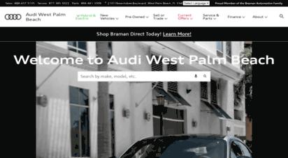 Audi West Palm Theminecraftservercom Best Resume Templates - Braman audi