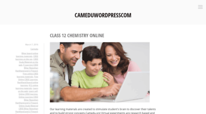cameduwordpresscom.wordpress.com
