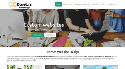 ccdantaswebdesign.com