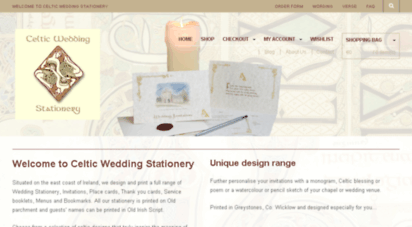 celticweddingstationery.com