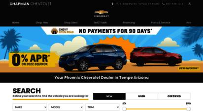 Amazing Chapmanchevy.com. Description: Chapman Chevy.