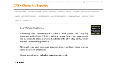 cheapartsupplies.co.uk