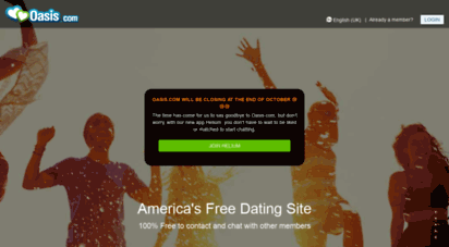 oasis dating site