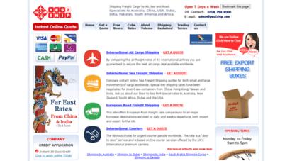 Welcome to Comparecargorates com - International Shipping - Air