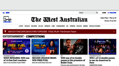 competitions.thewest.com.au