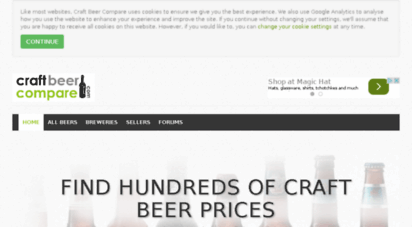 craftbeercompare.com