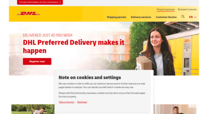 Welcome To Dhl Mobilcom Private Customers