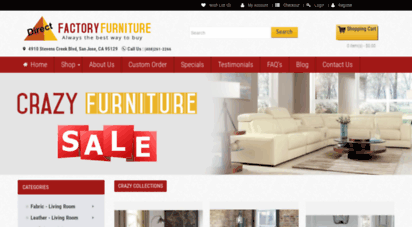 Directfactoryfurniture.com. Description: Direct Factory Furniture.