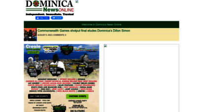 Dominica news online news entry page