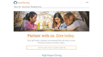 donate.intervarsity.org