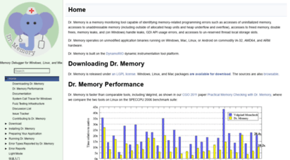 drmemory.org