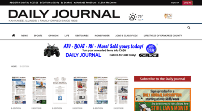 Eedition Daily Journal Com