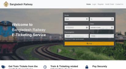 bangladesh railway esheba registration