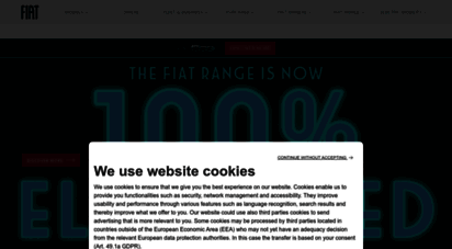 Welcome To Fiat Co Uk Fiat Official Uk Website Fiat Uk