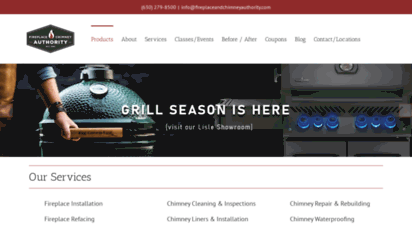 fireplaceandchimneyauthority.com