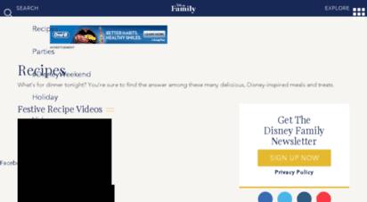 Welcome to food homekaboose recipes disney family food homekaboose forumfinder Images