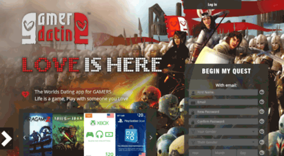 dating for gamers free