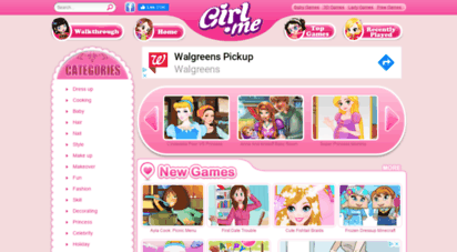 For to girls games play new Play online