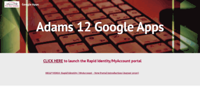 adams 12 google apps