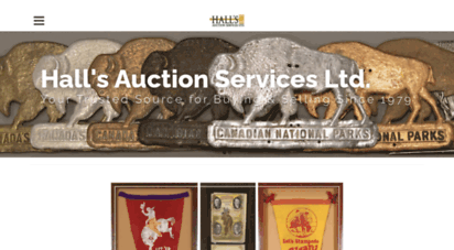 hallsauction.com