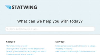 help.statwing.com
