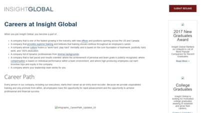 Insight Global Careers >> Welcome To Igicareers Com Careers In Sales And Operations With