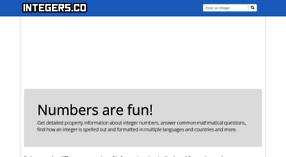 integers.co