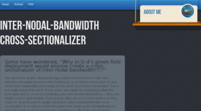 inter-nodal-bandwidth-cross-sectionalizer.com