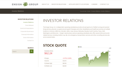 investor.ensigngroup.net