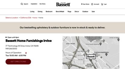 Irvine.bassettfurniture.com