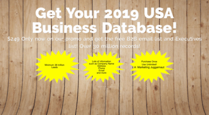 Welcome to Klgconsulting com - USA Business database and B2B email list