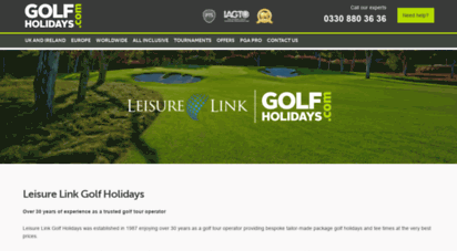 leisurelinkgolf.com