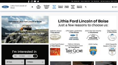 Lithia Ford Boise >> Welcome To Lithiafordboise Com New Used Ford Dealership In Boise