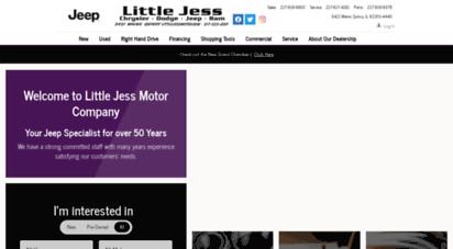 Littlejessmotor.com. Description: Little Jess Motor. Quincy, IL ...