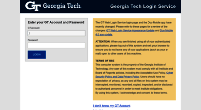 login.gatech.edu