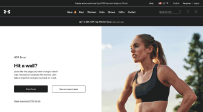under armour official website