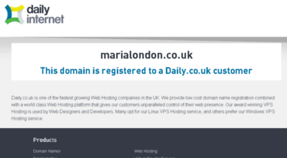 marialondon.co.uk
