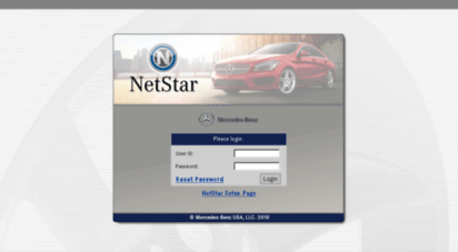 mercedes benz netstar phone number