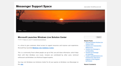 messengersupportspace.wordpress.com