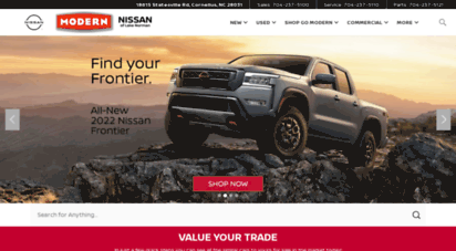 Modernnissanoflakenorman.com. Description: Modern Nissan Of Lake Norman.