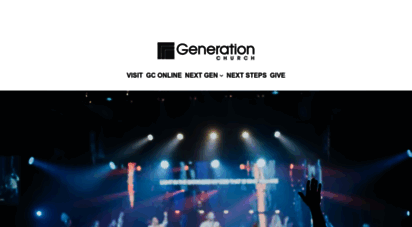 mygenerationchurch.com