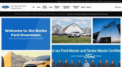 Welcome To Myjimburkeford Com Jim Burke Ford New Used Car
