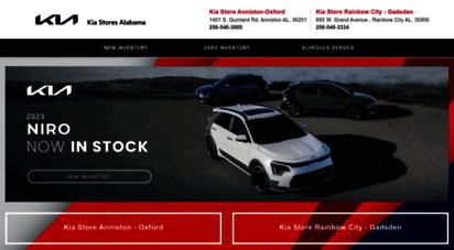 Description: My Kia Store. Alabama Kia Dealerships At 1401 S. Quintard Rd  Anniston   Oxford, AL 36201 U0026 950 W. Grand Ave, Gadsden   Rainbow City, AL.